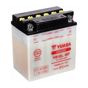 Batteria Yuasa YB10L BP 12V 12Ah Piaggio Beverly 500 2002 2003 2004 2005 2008