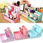 Paper Board Storage Box Desk Decor DIY Stationery Makeup Cosmetic Organizer New