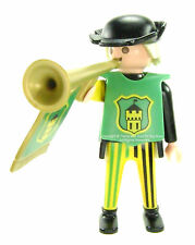 Playmobil 3666 Castle Parts FIGURE TRUMPETER MAN NB NC NHD Trumpet Guy Knights I