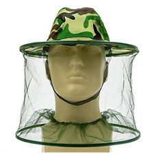 Mosquito Head Net Hat Bug Reppelent Face Mesh Head Cap Protector Insect Bee Camp