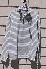NWT-$99 Polo Ralph Lauren Men's 1/2 Zip Cotton Pullover Size M