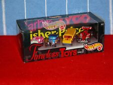 HOT WHEELS TIMELESS TOYS SERIES 2 DIECAST CAR SET TYCO FISHER PRICE BARBIE