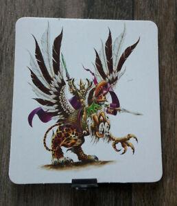 Warhammer * Le jeu des batailles fantastiques * Carte Personnage n°1 *