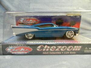 1/24 SCALE 1957 CHEZOOM KALIFORNIA KICKS CLASSIC METAL WORKS TEAL DIECAST CAR