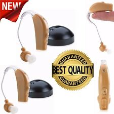 Behind Ear Sound Amplifier Digital Hearing Aid BTE Rechargeable Voice Amplifier