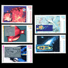 Germany 1999 - Charity Stamps - Space - Sc B855/9 MNH
