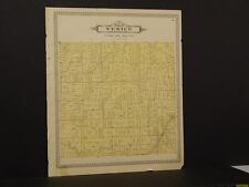 Michigan Shiawassee County Map Venice Township 1895 !J8#95