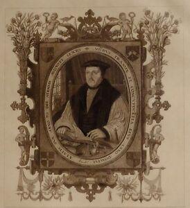 1896 Antik Aufdruck (Queen Elizabeth I) Archbishop Parkaufseher