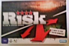 Risk Game Strategic Conquest Hasbro War Strategy Ages 12+ 3-5 Adult Parker Bros