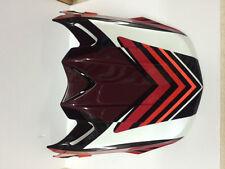 FLY RACING FORMULA MX VISOR RED/WHITE/BLACK