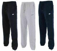 Nike Mens Joggers Fleece Logo Sweatpants Jog Gym Running Ankle Tracksuit Bottoms