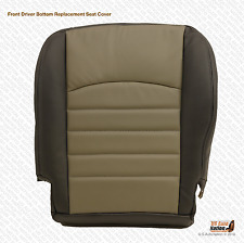 2011 2012 Dodge Ram 5500 Driver Bottom Replacement Synthetic Leather Seat Cover