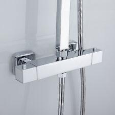 Robinet mitigeur thermostatique carré de douche robinet chrome Bathroom ME