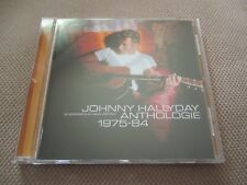 "CD ""JOHNNY  HALLYDAY - ANTHOLOGIE 1975 - 1984"" best of 18 titres"