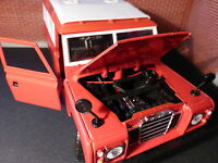 Land Rover Series 3 109 LWB Station Wagon 1:24 Scale Diecast Detailed Model