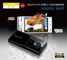 DOCOMO SHARP SH-10C AQUOS HD 3D JAPANESE FLIP PHONE UNLOCKED CELLPHONE NEW
