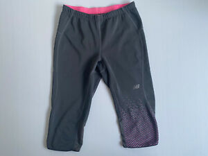 New Balance Size M Women Activewear Pants -  Cropped Length Gym Yoga Pants