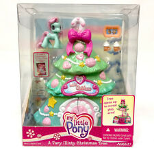 My Little Pony_A Very Minty Christmas Tree Playset 2006_Mint in Box