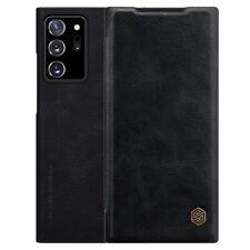 Nillkin Qin Series Flip Case für Samsung Galaxy Note20 Ultra - Schwarz