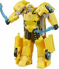 Transformers Toys Cyberverse Ultra Class Bumblebee Action Figure, Combines