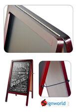 """Sidewalk Chalk Board Sandwich Restaurant Cafe Menu A Frame 37"""" x 20"""" Big 50 PCS"""