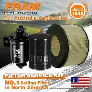 Fram Oil Air Fuel Filter Service Kit for Toyota Landcruiser FZJ70 FZJ75 80 LWB