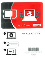 Simkarten-Adapter Micro-SIM zu Mini-SIM original Lenovo Connect SIM Karte Adapte