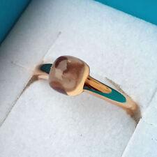 Runde Echtschmuck mit Diamanten Ringe