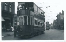Transport Essex SOUTHEND Tram #63 c1950s? Photograph by Packer