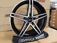 Motec Xtreme MCT7 BMW 1er 3er 5er 8.5x19 5x120 ET35 Limited Flat Black Polished