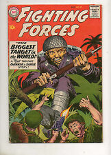 Our Fighting Forces #52 Fine+ 6.5 Nice Book 1959 EARLY Gunner & Sarge no Pooch