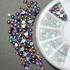 3D Nail Art Tips gems 300pcs Crystal Glitter Rhinestone DIY Decoration Gift New
