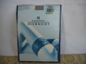 NEW Givenchy Passion Privee 512 LACE TOP THIGH HIGH Shimmery SILVER FOX Sz B