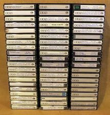 1967-1992 VARIOUS GRATEFUL DEAD SHOWS ON LOT OF 60 HIGH QUALITY CASSETTE TAPES