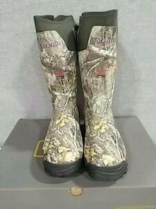 "LACROSSE 15"" Alphaburly Pro Women's Boots Realtree Edge 800G - SIZE - 11 US"