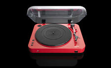 Lenco L-85 USB Two Speed Turntable With Direct Mp3 Recording Red