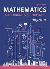 Mathematics for Economics and Business 8E by Ian Jacques 8th