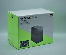Western Digital My Book Duo 28TB (2-Bay Desktop Raid NAS 2x WD Red 14TB) NEU OVP