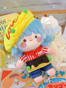 Original Hand-made 20cm Doll Clothes Outfit Creative Suit Omelet Rice Suit N