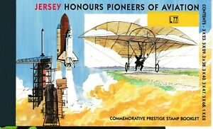 S35890 Jersey 2002 MNH Pioneers Of Aviation Booklet