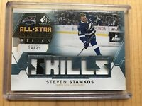 2015-16 Steven Stamkos SP Game-Used All-Star Skills Relics Gold #10/25