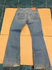 MEN'S LEVIS 516  BOOTCUT CUT JEANS - RARE - W32 x L34 - NO FRONT POCKETS