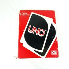 UNO International Games Cards