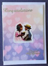 1 Hand made card - Congrats On Your Engagement. Postage $2 for 1 to 6 cards