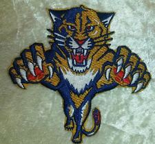 """Florida Panthers NHL Logo 3.5"""" Iron On Embroidered Patch ~USA Seller~"""
