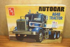 AMT AUTOCAR A64B TRACTOR 1/25 SCALE MODEL TRUCK KIT