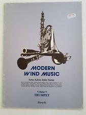 Modern Wind Music (Volume 5) Trumpet (Music Book)