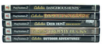 Cabela's Lot: Dangerous Hunts 1&2, Deer Hunt 04, Trophy Bucks Outdoor Adventures