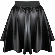 NWT LARGER LADIES XXL SEXY MINI SKIRT GOTH TRANSVESTITE CROSSDRESSER SISSY ADULT