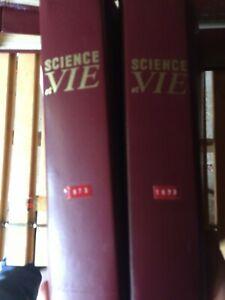 sciences et vie lot de 182 magazine en classeur